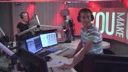 "Bart De Wever en Qmusic-presentatoren Sam en Heidi lachen om de ""superkut"" van Lynn Wesenbeek"