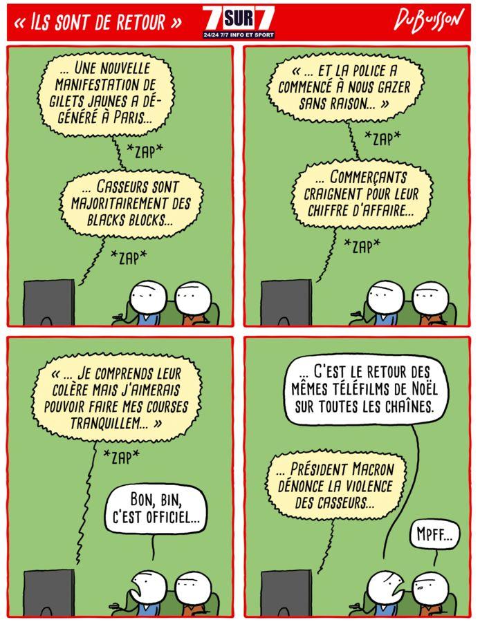 """""""Ils sont de retour"""", lundi 18 novembre 2019"""