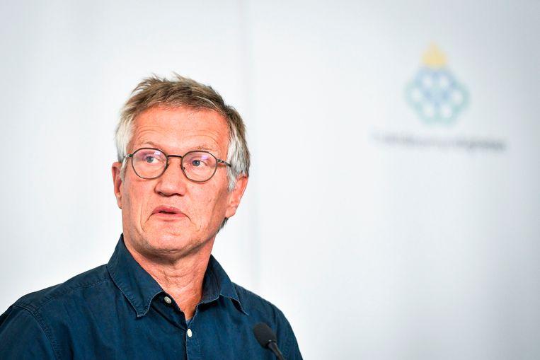Staatsepidemioloog Anders Tegnell
