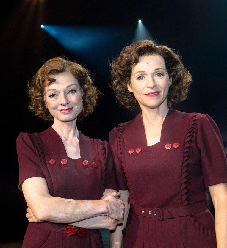 Ann Tuts en Marleen Merckx