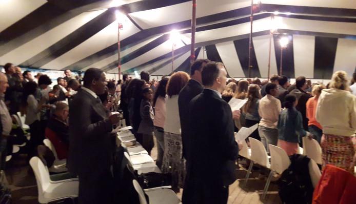 Grote wonderen blijven uit bij gebedsgenezing in Arnhem