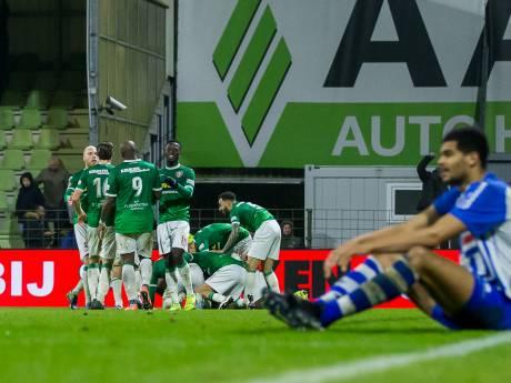 FC Dordrecht in extra tijd langs FC Eindhoven
