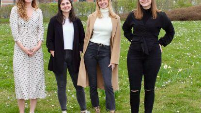 """Vier studentes lanceren app met digitale gezinszoektocht: """"We willen dat iedereen blijft bewegen"""""""