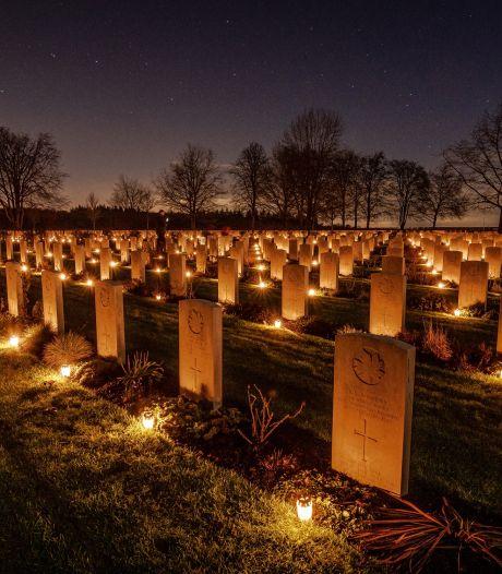De kaarsen branden in Groesbeek, ondanks corona