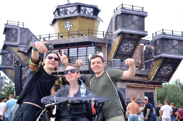 De Duitse vrienden Jeremiah Winkler (21), Lukas Krepper (22) en Steffen Bauer (20) hadden het weekend van hun leven.