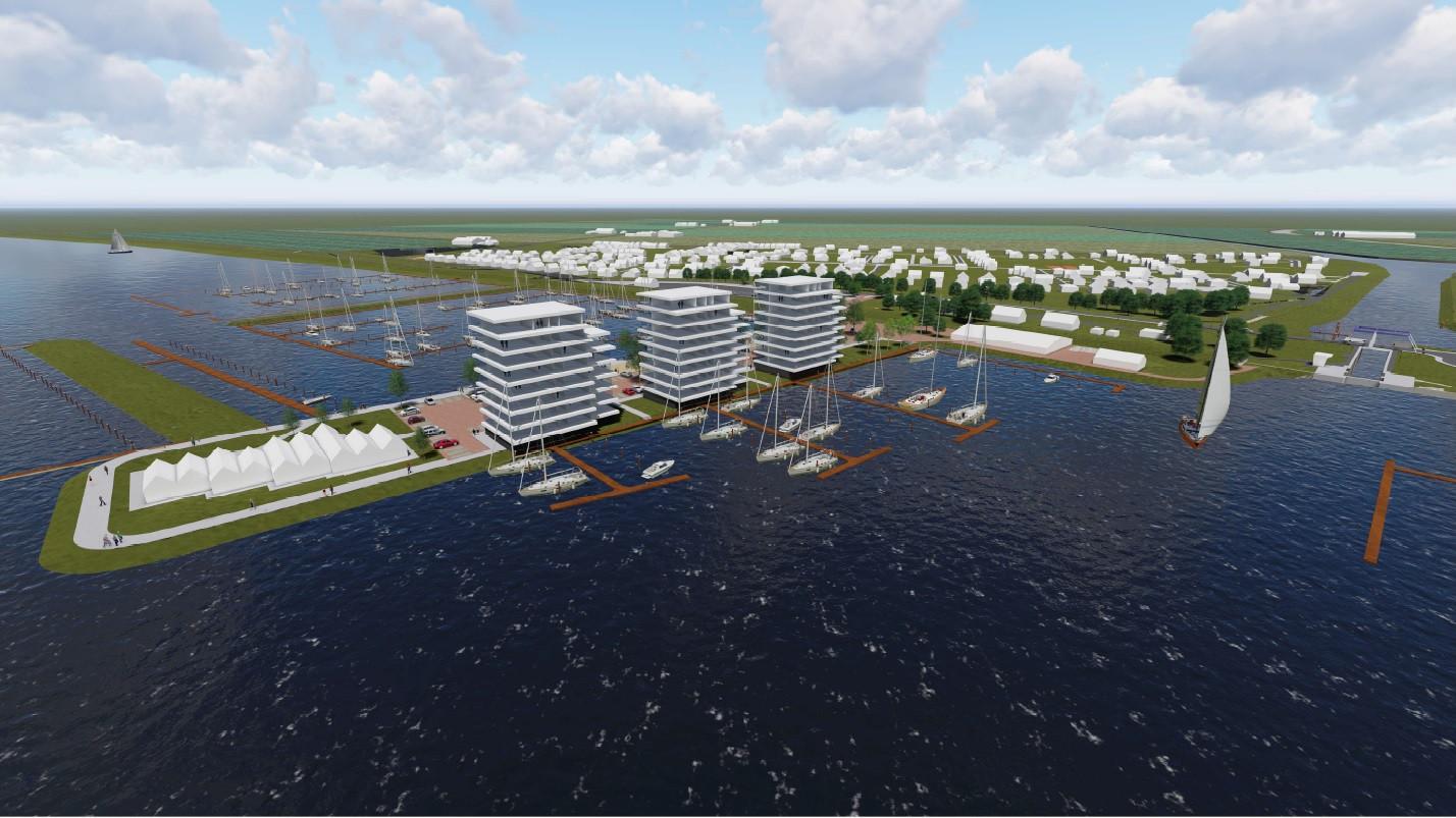 Impressie van de plannen voor Ketelhaven.