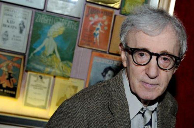 Een Amerikaanse confectieketen heeft een juridische geschil met Hollywoodveteraan Woody Allen geschikt voor 5 miljoen dollar (3,7 miljoen euro). Foto ANP Beeld