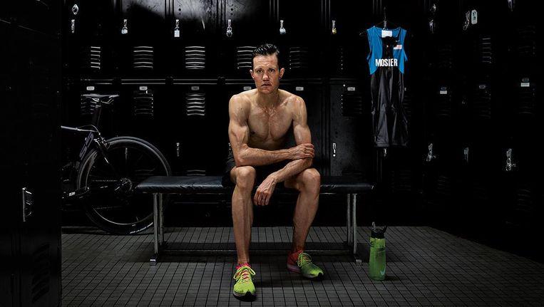 Beeld uit de campagne van Nike met transgender Chris Mosier. Beeld Nike