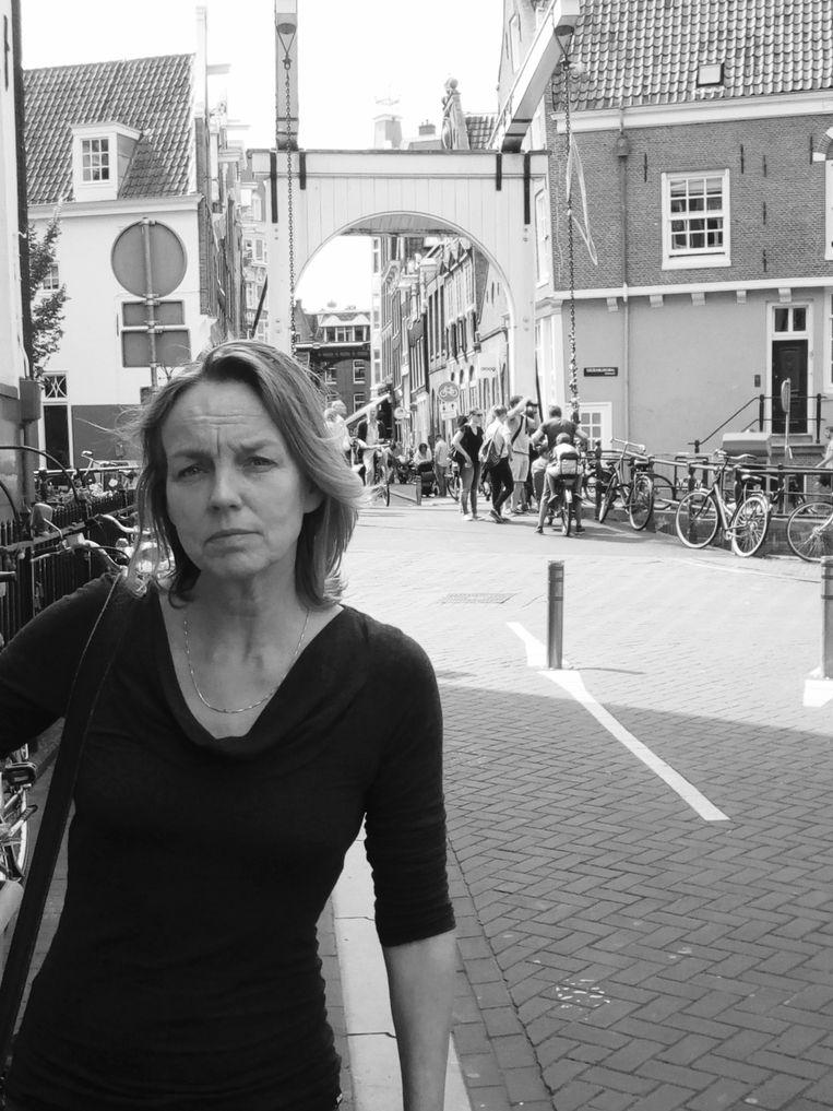 Cecile Landman, freelancejournalist. Beeld