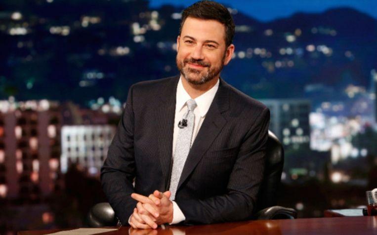 Jimmy Kimmel tijdens zijn talkshow.