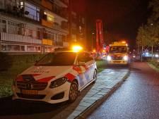 Man gewond bij flat in Wageningen