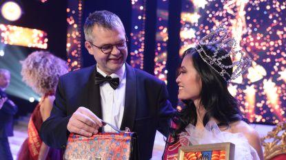 Nieuwe Miss België krijgt schilderij en handtas: 22.000 euro in totaal