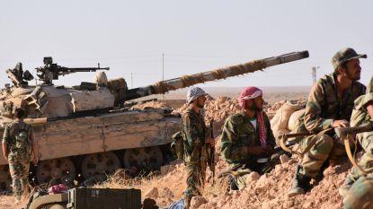 """VS vallen regeringsgezinde strijdkrachten aan in Syrië: """"Meer dan 100 soldaten gedood"""""""