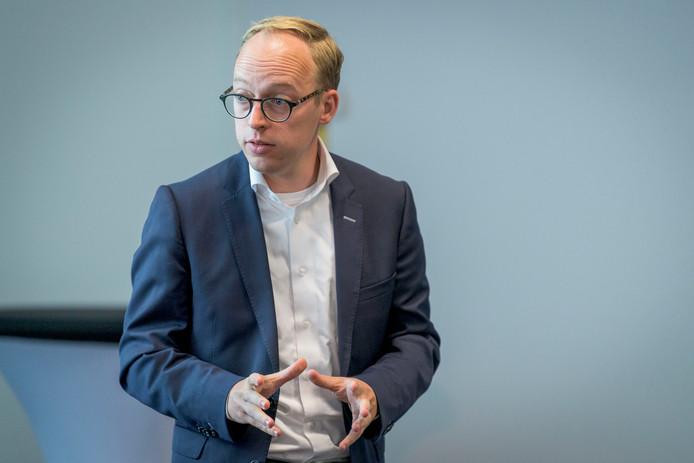 Eelco Eerenberg, als wethouder in Enschede verantwoordelijk voor jeugdzorg.