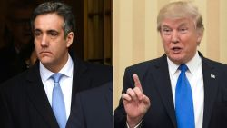 """Cohen: """"Trump gaf mij de opdracht zwijggeld te betalen aan twee vrouwen"""""""