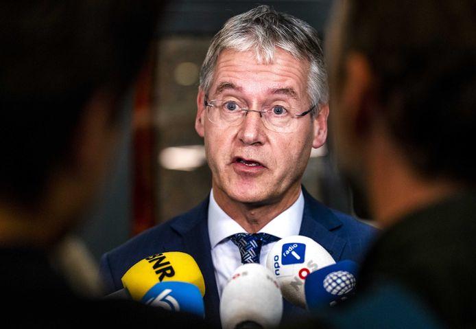Arie Slob, minister voor Basis- en Voorgezet Onderwijs en Media