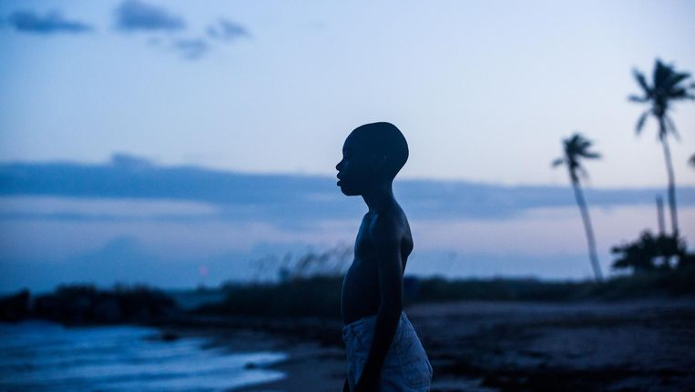 Chiron groeit op in de zwarte achterstandswijk Liberty City in Miami Beeld David Bornfriend