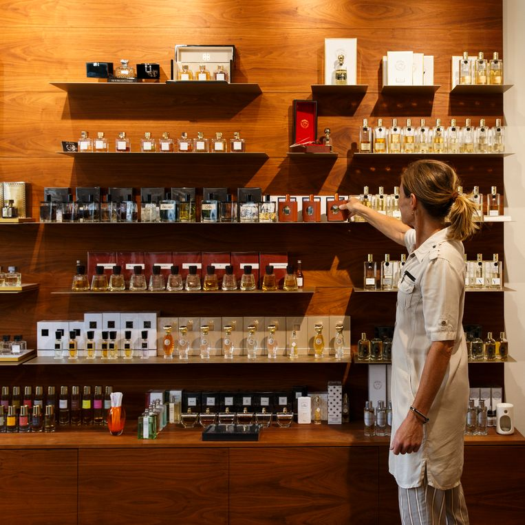 Perfume Lounge. Beeld Wollaert Carly