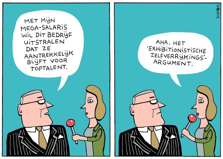 De cartoon van Bas van der Schot van vandaag. Beeld null