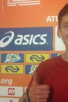Sven van Merode blij met zilver op NK ondanks verlies titel hoogspringen