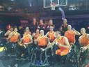 De rolstoelbasketballers bij de Invictus Games in Toronto