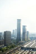 Hoogbouw in Eindhoven: Het ambitieuze plan voor het Stationsplein draagt de naam District E.