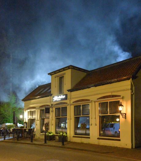 Brand bij restaurant de Heerlijckheyt in Apeldoorn