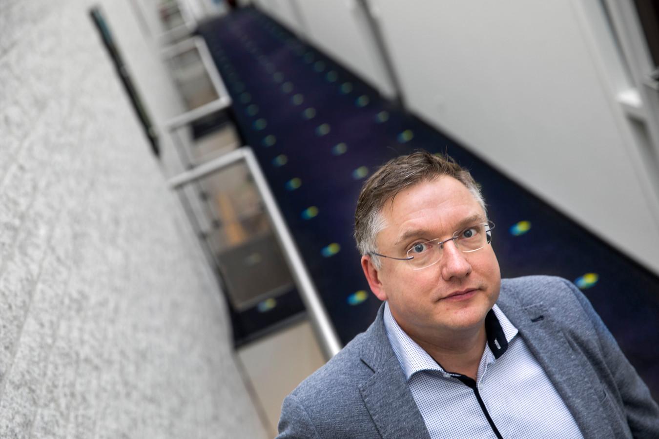 Rob Stefens bij XL Websolutions in Nuenen.