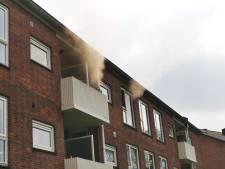 Woningbrand op tweede etage in Amersfoort