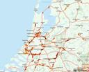 De ANWB registreert de oververhitte verkeerssituatie per minuut.