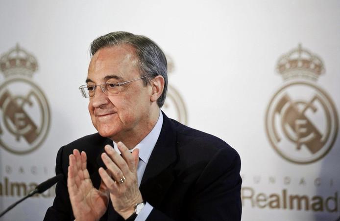 Voorzitter Florentino Pérez
