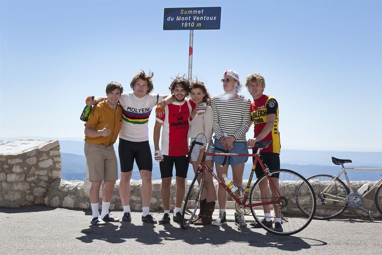De jonge acteurs van Ventoux. Beeld