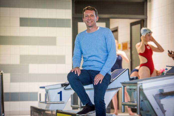 Roald van der Vliet nam het initiatief om de zwemlessen voor de jeugd te veranderen bij PSV.