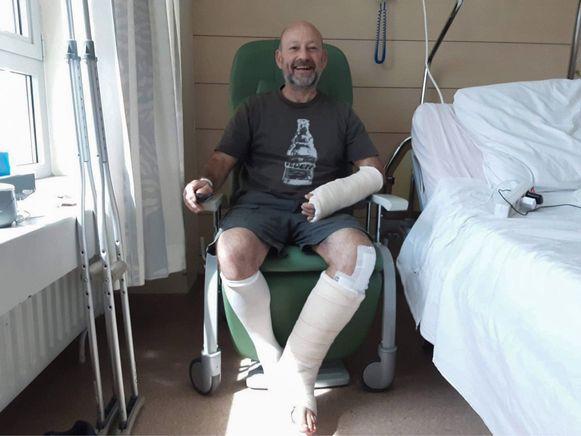 Joost Dierickx verblijft momenteel nog in het ziekenhuis. De Dendermondse Straatlopers willen hem steunen.