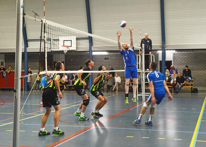 Ook het mannenteam van Forza Schouwen-Duiveland geeft zaterdag 8 september acte présence in Zierikzee.