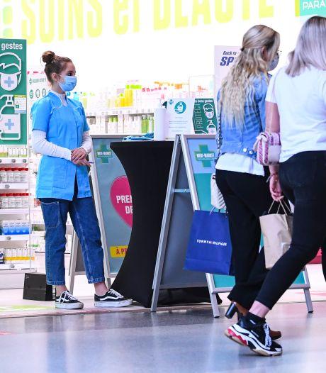Neuf Belges sur dix vont moins souvent dans les magasins depuis la crise sanitaire