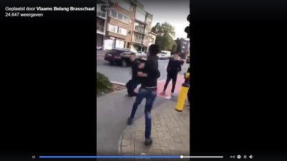 Viraal filmpje: leerlingen vechten na school in Brasschaat