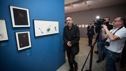 Tim Burton bezoekt expo in 'prachtig gebouw'