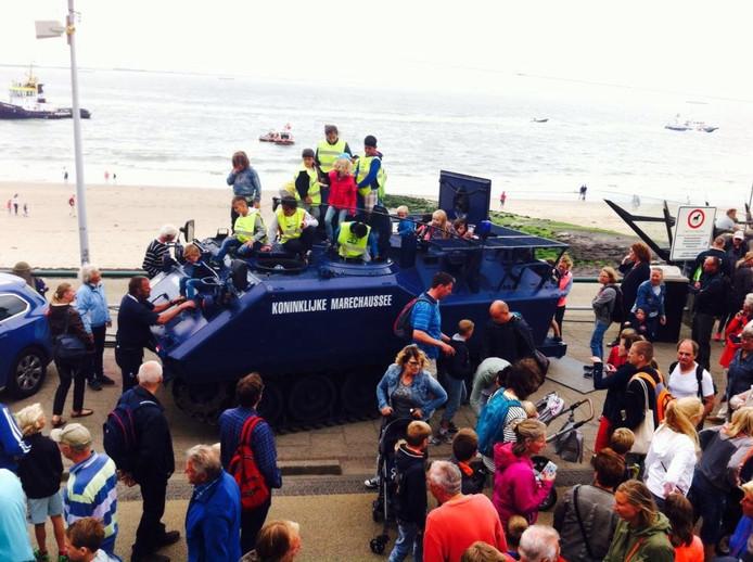 Koninklijke Marechaussee bij Rescue Vlissingen