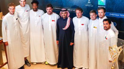Goffin alweer uit vakantie voor lucratief toernooi van 3 miljoen dollar in Saoedi-Arabië