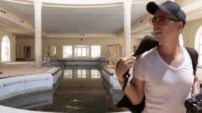 VIDEO. Urban explorers dringen binnen in gigantisch leegstaand luxehotel en filmen wat ze daar aantreffen