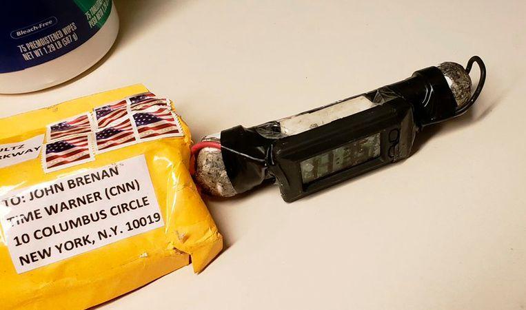 De eerste bombrief die CNN vorige week kreeg
