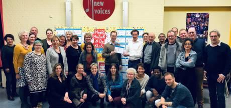 'Meer zang in de klas' op Liemerse basisscholen met The New Voices