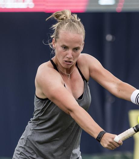 Tennisster Hogenkamp na doodsbedreiging: Er moet iets gebeuren