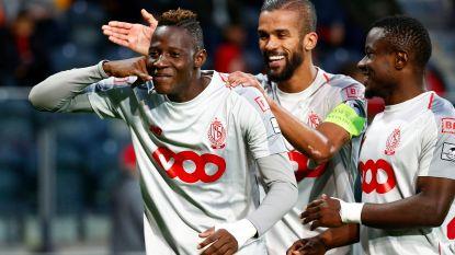 VIDEO. Standard weet weer wat winnen is: Rouches halen het dankzij Djenepo met 1-3 in Oostende