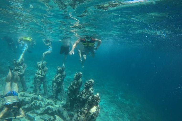 De onderwaterbeelden bij Gili Meno zijn populair bij snorkelaars.