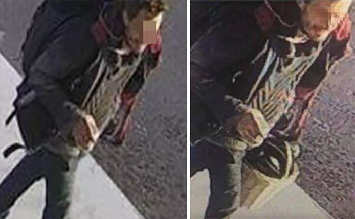 Op camerabeelden zag de politie dat verdachte Steve B. met het fietsmandje van Julie in de richting van het Albertkanaal wandelde. Het mandje werd bewust niet getoond op de beelden die de politie verspreidde, zodat de man niet zou weten dat de politie hem als verdachte zocht.