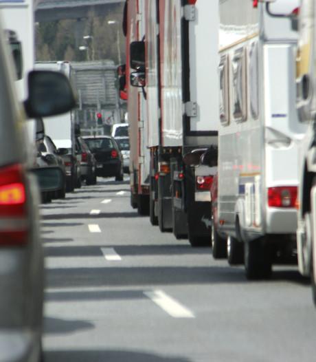 A50 weer vrij tussen Eindhoven en Veghel na ongeluk
