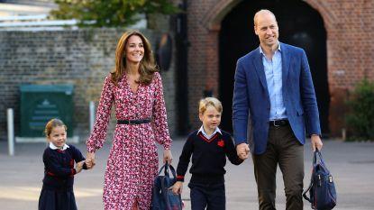 Coronavirus komt dicht bij Britse royals: klasgenootjes prins George en prinses Charlotte in quarantaine