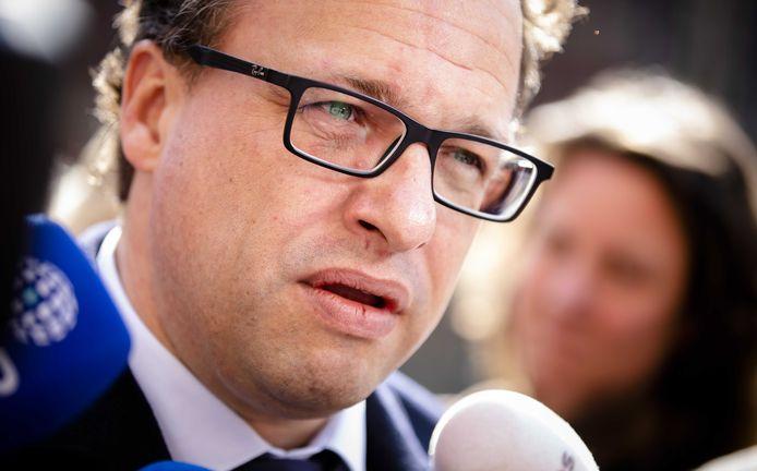 Minister Wouter Koolmees van Sociale Zaken en Werkgelegenheid (D66)